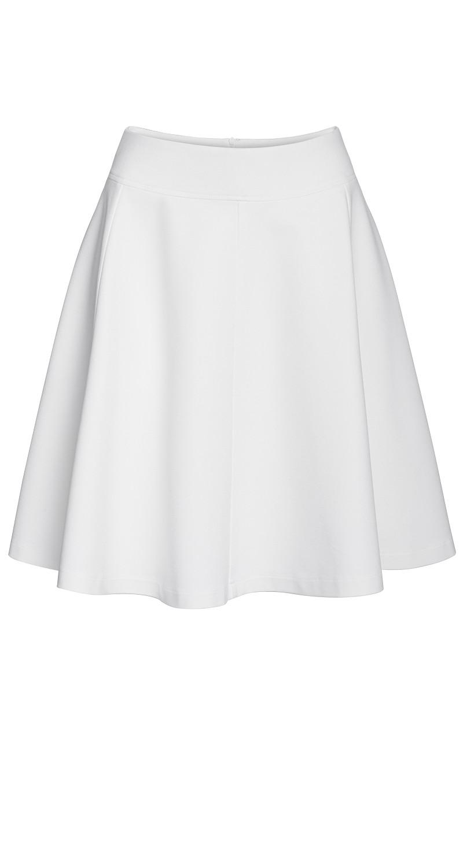 AMCO Fashion by Annett Möller | AMCO Miss Sorley´s Skirt | Cream | Creme | Gefütterter Strechrock