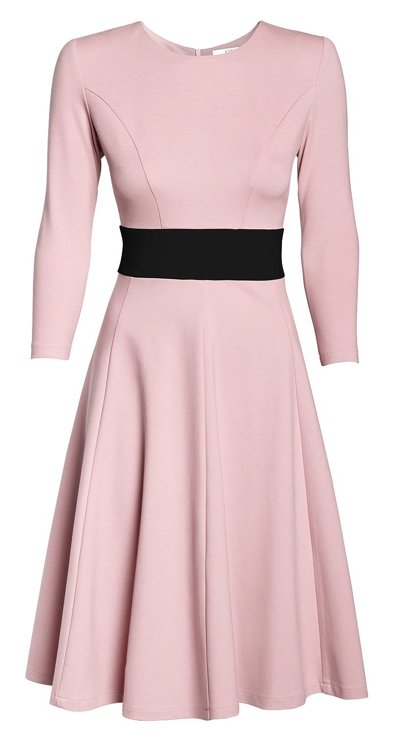 AMCO Carrie Dress   Rose and Classic Black   AMCO fashion