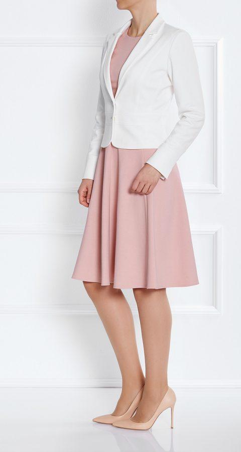 AMCO Fashion by Annett Möller | AMCO Mineola Jacket | Cream | Creme | Kurzblazer mit Elastananteil