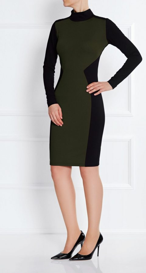 Madison_Dress_Dark_Olive_1
