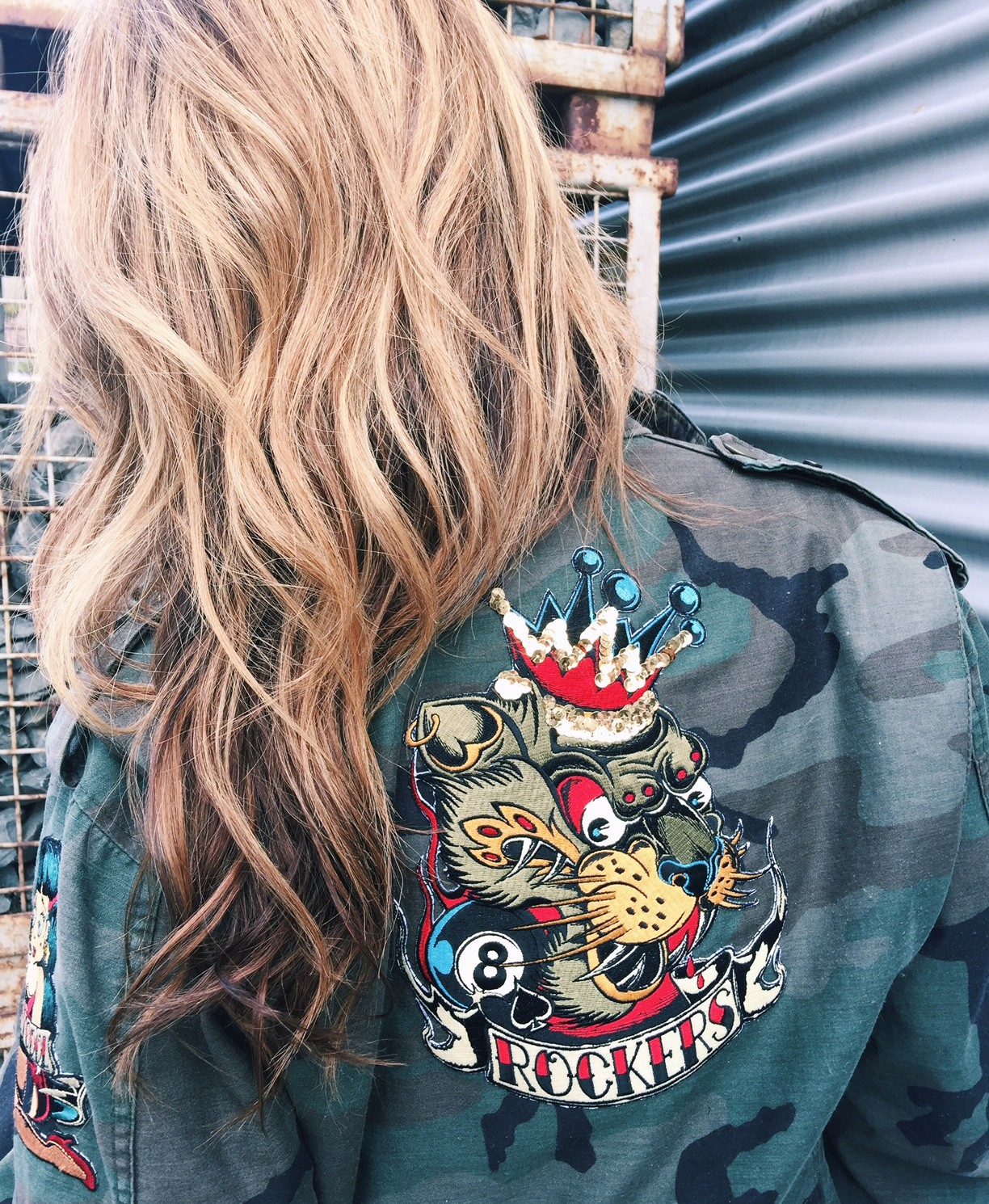 DIY – Army Jacket mit Patches