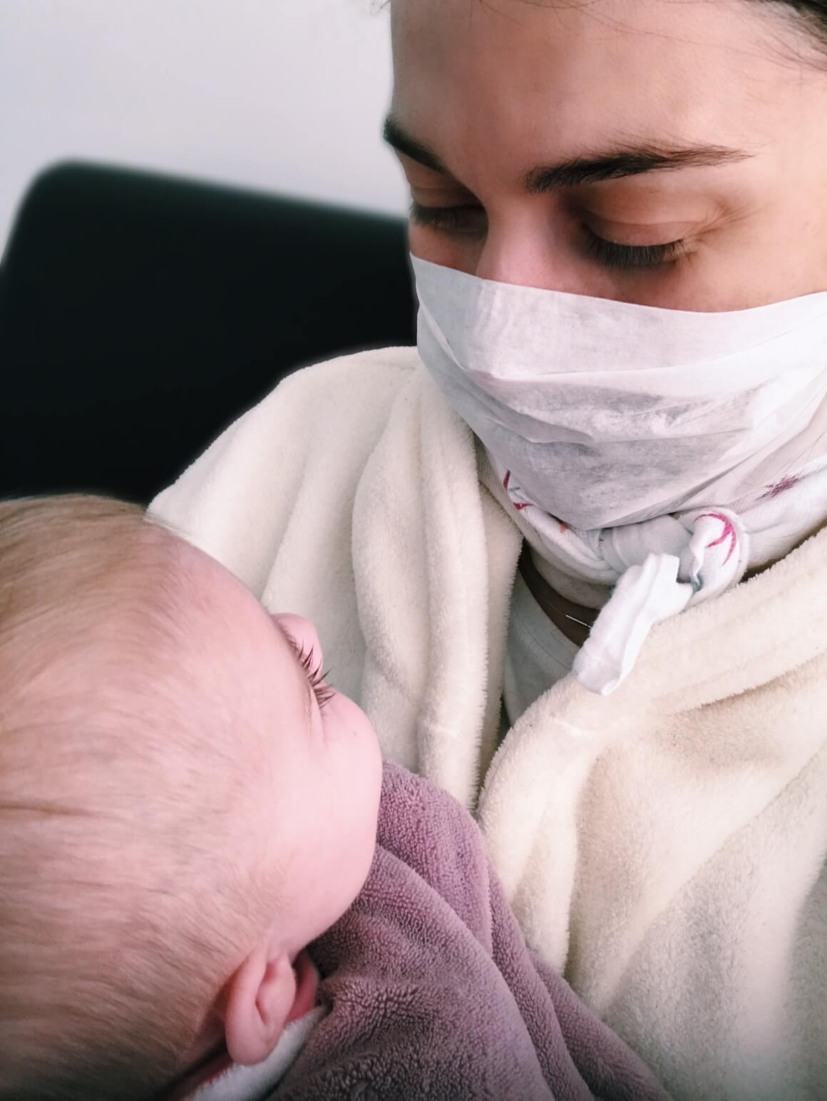 Babys erster Schnupfen